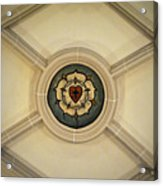 Luther Rose At St Peter And Paul Acrylic Print