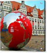 Lutherstadt World Acrylic Print