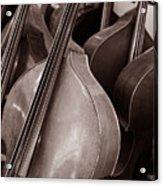 Luthier 4c Acrylic Print