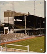 Luton Town - Kenilworth Road - Main Stand East Side 1 - 1970s Acrylic Print