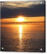 Lutsen Shore Sunrise Two Acrylic Print