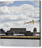Lux Air London City Airport Acrylic Print