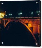 Luxembourg Bridge Acrylic Print