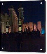 Luxor City In Egypt Acrylic Print