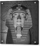Luxor Interior 2 B W Acrylic Print