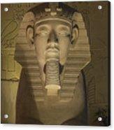 Luxor Interior 2 Acrylic Print
