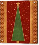 Luxurious Christmas Card Acrylic Print
