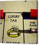 Luxury Tax Acrylic Print