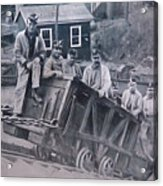 Lykens Valley Miners Acrylic Print