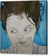 Lyla Le Chocolat Colle Aux Dents Acrylic Print