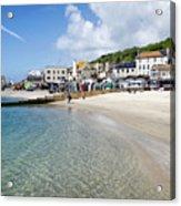 Lyme Regis Beaches - June 2015 Acrylic Print