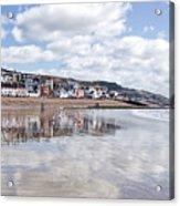 Lyme Regis Seafront Acrylic Print