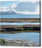 Lyme Regis Seascape 2 - October Acrylic Print
