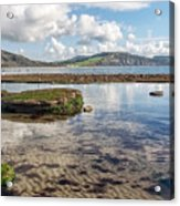 Lyme Regis Seascape 3 - October Acrylic Print