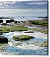 Lyme Regis Seascape 4 - October Acrylic Print