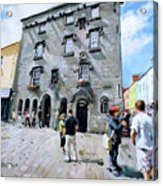 Lynches Castle Galway City Acrylic Print