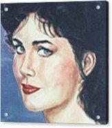 Lynda Carter Acrylic Print