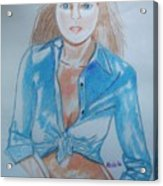 Lynda Carter Wonder Woman  Acrylic Print