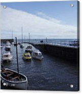 Lynmouth Harbour Acrylic Print