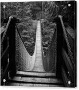 Lynn Canyon Bridge Acrylic Print