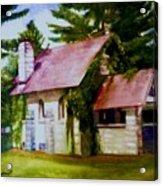 Lyons Falls Church Acrylic Print