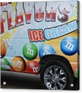 M And M Flavors For The Kids Acrylic Print