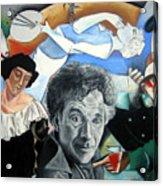 M Chagall Acrylic Print