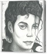 M. J. Acrylic Print
