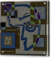M-theory Acrylic Print