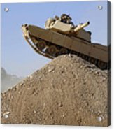 M1 Abrams Acrylic Print