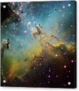 M16 The Eagle Nebula Acrylic Print by Ken Crawford