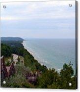 M22 Scenic Lake Michigan Overlook  Acrylic Print