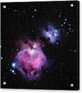 M42--the Great Nebula In Orion Acrylic Print
