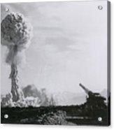 M65 Atomic Cannon Acrylic Print