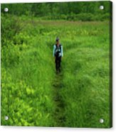 Ma At Section Hiker Acrylic Print