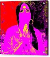 Ma Jaya Sati Bhagavati 16 Acrylic Print by Eikoni Images