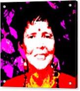 Ma Jaya Sati Bhagavati 6 Acrylic Print