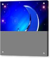 Ma Moon Acrylic Print