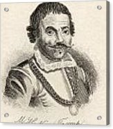 Maarten Harpertszoon Tromp 1598 - 1653 Acrylic Print