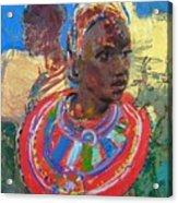 Maasai Daydream Acrylic Print