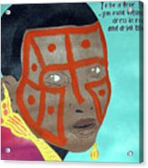 Maasai Acrylic Print