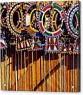 Maasai Wedding Necklaces Acrylic Print