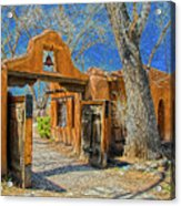Mabel's Gate Acrylic Print