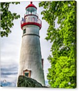 Mablehead Light From The Rocks Acrylic Print