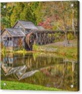 Mabry Mill Reflections Acrylic Print