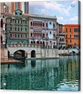 Macau China Attractions Acrylic Print