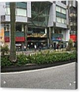 Macau Triptych 2 Acrylic Print