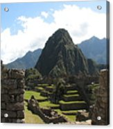 Macchu Picchu 10 Acrylic Print
