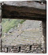 Macchu Picchu 5 Acrylic Print