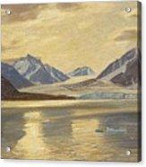 Macco, Georg 1863 Aachen - 1933   Glacier On Spitsbergen Acrylic Print